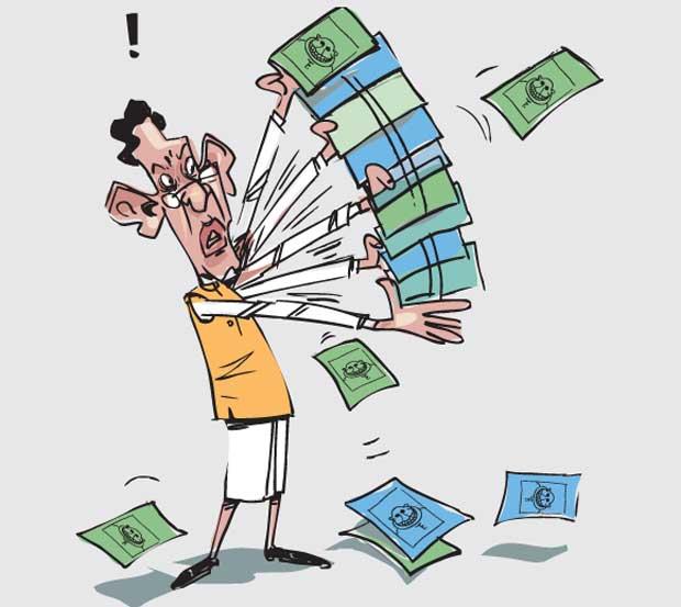 Image result for cartoons on cabinet reshuffle , Sri Lanka