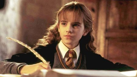 10 y o emma watson used a quill during the filming of harry potter and here is the note she wrote demilked