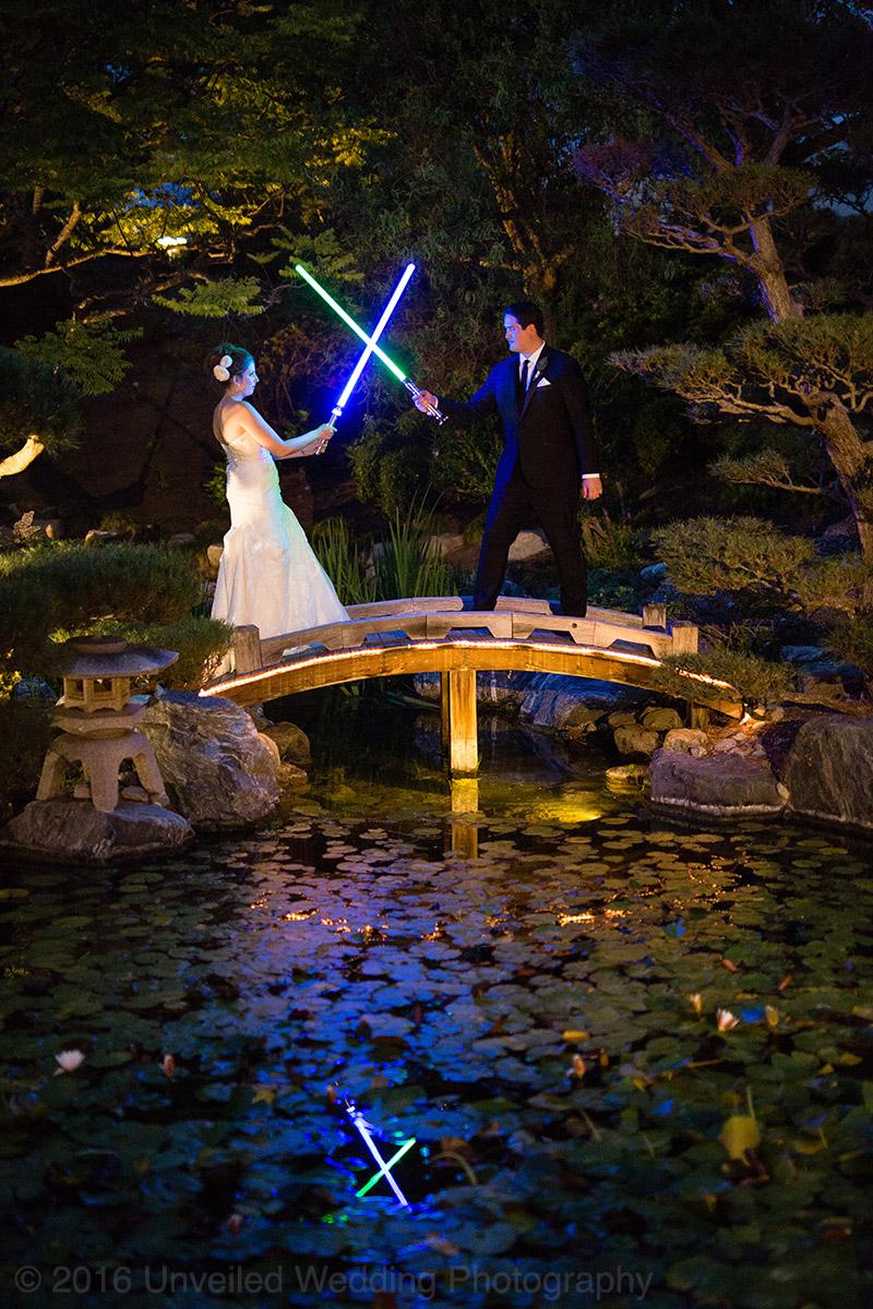 5df743d5e481a star wars wedding cory carrie shields 52 - Casal teve um casamento com o tema Star Wars