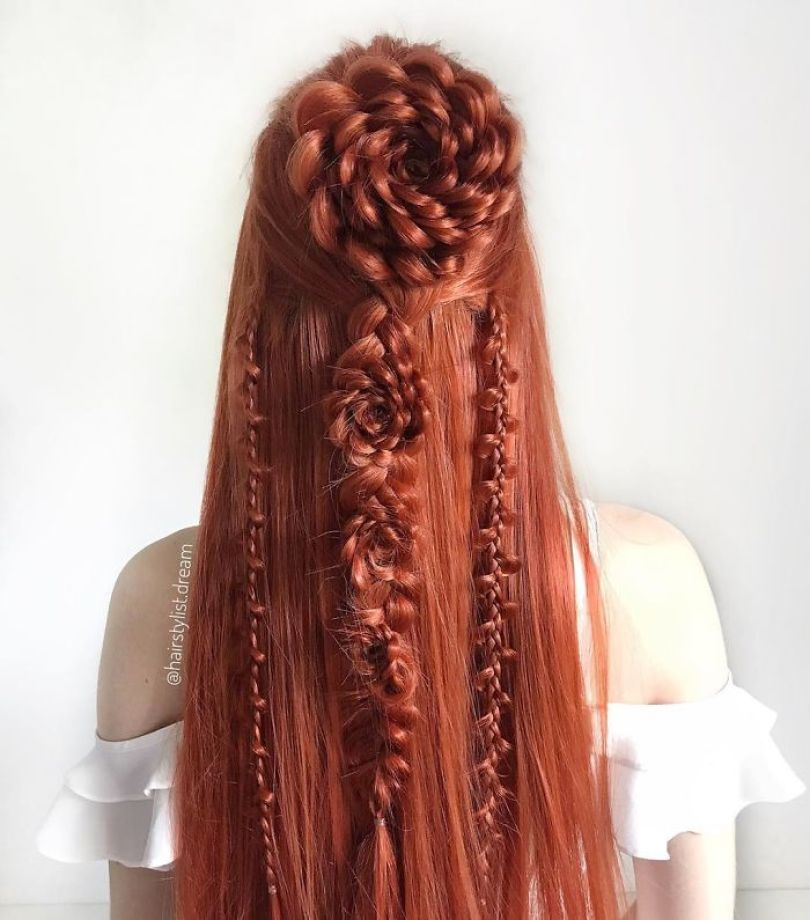 5fc4a339eae16 hairstyles patterns teenager milena germany53 5f50e51d3c066  700 - Menina Hairstyler de 17 anos faz sucesso nas Redes Sociais