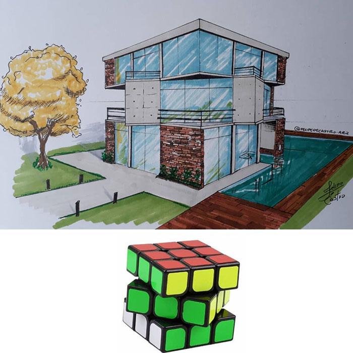 604f1527a8bb8 What if ordinary objects became incredible architectures 113 Pics 6049dbfb25c77  700 - 20 esboços de projetos de Arquitetura inspirados em objetos