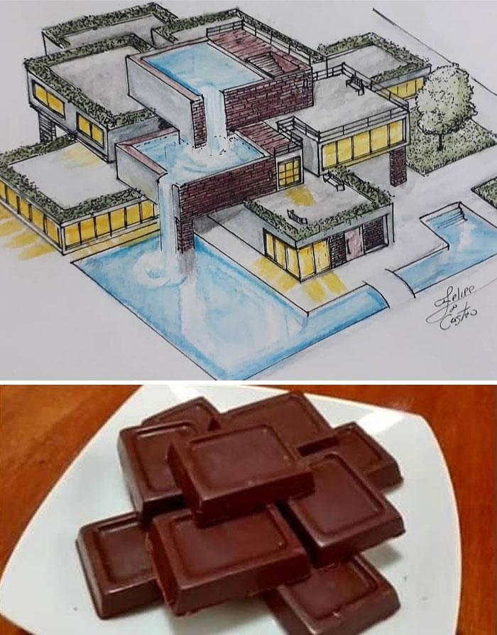 604f152804a88 What if ordinary objects became incredible architectures 113 Pics 6049dc3a133ab  700 - 20 esboços de projetos de Arquitetura inspirados em objetos