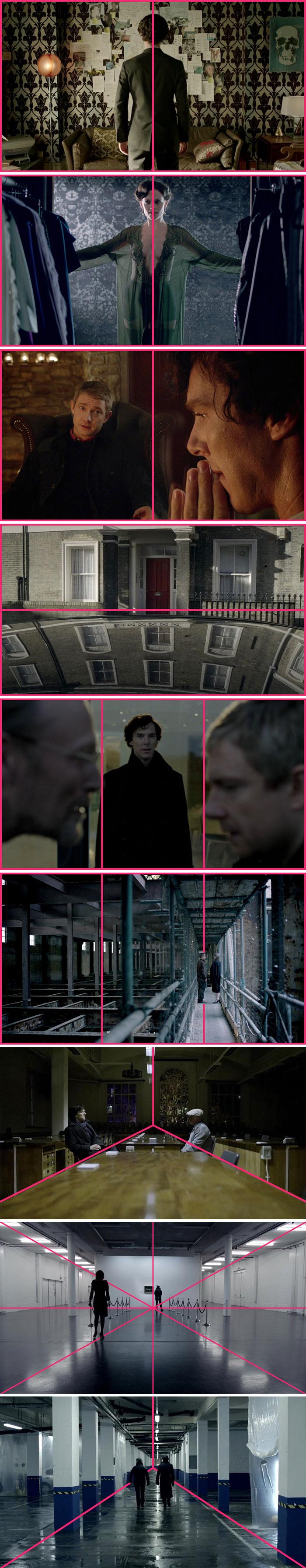 605da6476c1da film scenes composition lines raymond thi 64 605b356bd1080  700 - Regra dos terços ainda é muito usada na TV e no Cinema