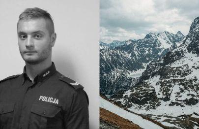 27-letni policjant zginął w Tatrach. Jego pasją były góry