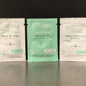 Aloe vera zeer gevoelige huid sample pakket