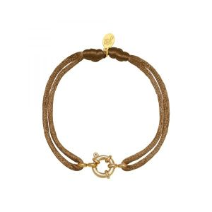 Armband Satin Wheel Camel
