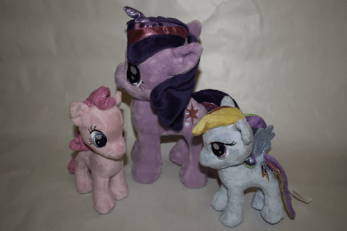 All three Funrise plushies