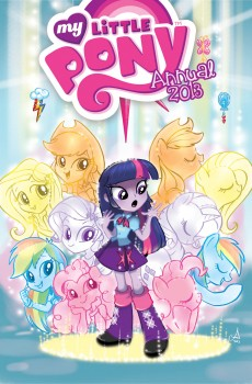 My Little Pony 2013 Annual Cover B by Amy Mebberson