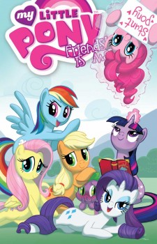 My Little Pony Friendship Is Magic Vol. 2 cover by Amy Mebberson