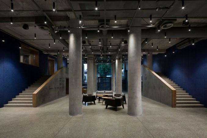 drozdov&partners uses titanium zinc and recycled bricks to clad theater in kiev designboom