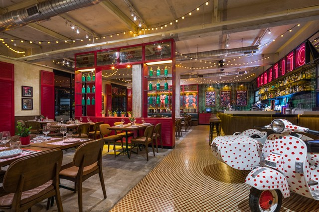 MTMDESIGN brings spanish flair to 'tomatito' restaurant design in saigon
