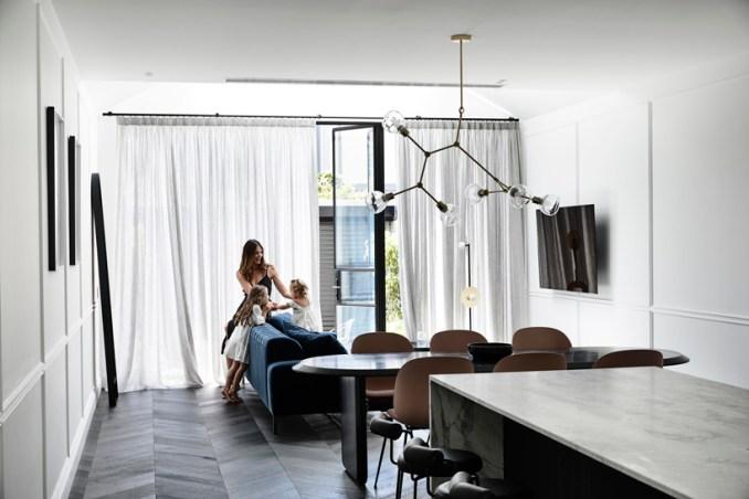 casa atrio in melbourne by biasol follows the laws of european design designboom