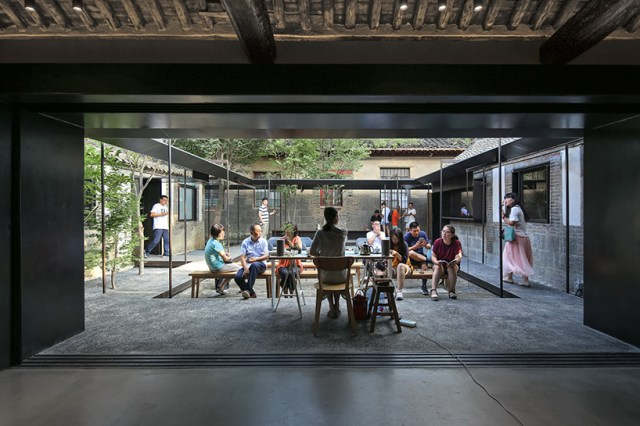 vector architects suochengli neighborhood library beijing hutong china designboom