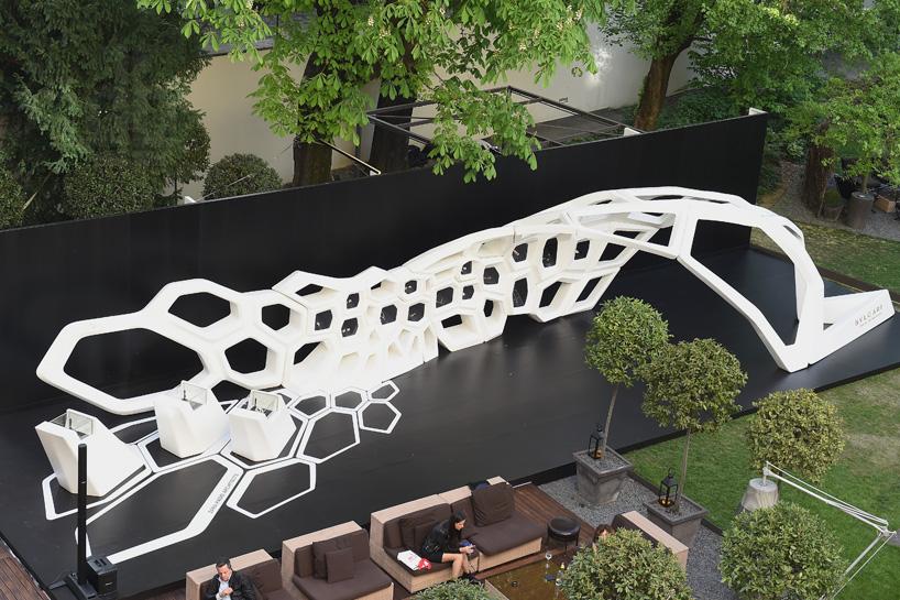 Zaha Hadid Bulgari Serpenti Installation Showcases Jewelery