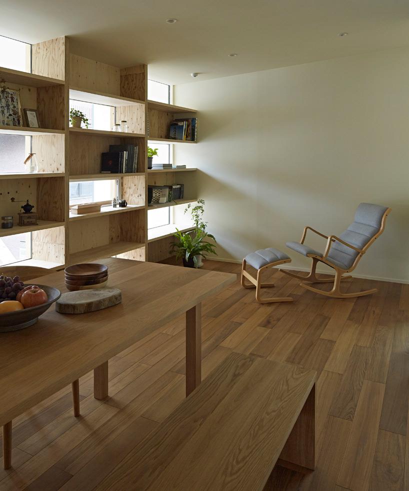 Takeshi Shikauchi S Checkered House Brings Wood Back To