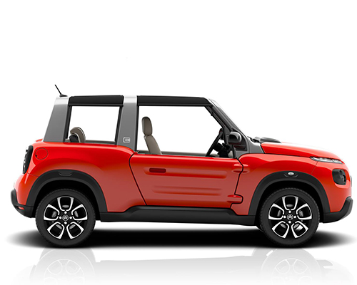 Citroen S All Electric E Mehari Echoes Adaptability Of The