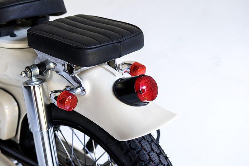 The Deus Sea Sider Custom Bike Is 70 S Super Cub For Surfers