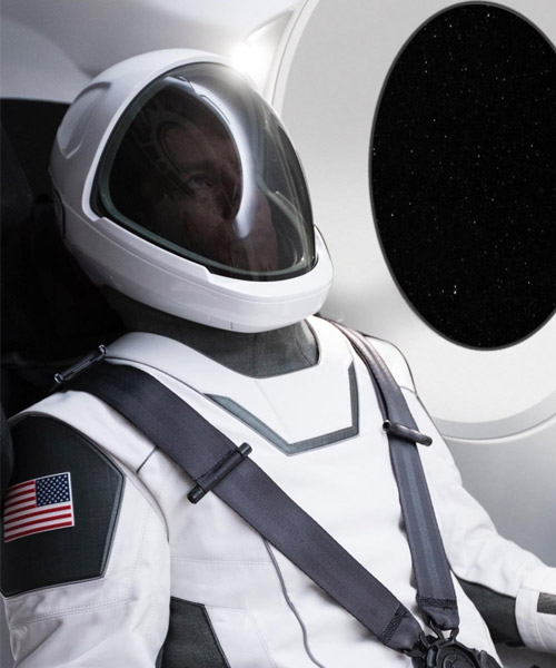 elon musk reveals first image of working spaceX space suit