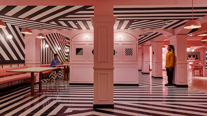 This Restaurant By RENESA Combines Pink Interiors With