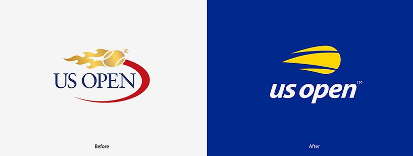 Tennis US Open Gets A Sans Serif Lowercase Rebrand