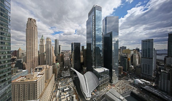 3 world trade center by rogers stirk harbour + partners opens