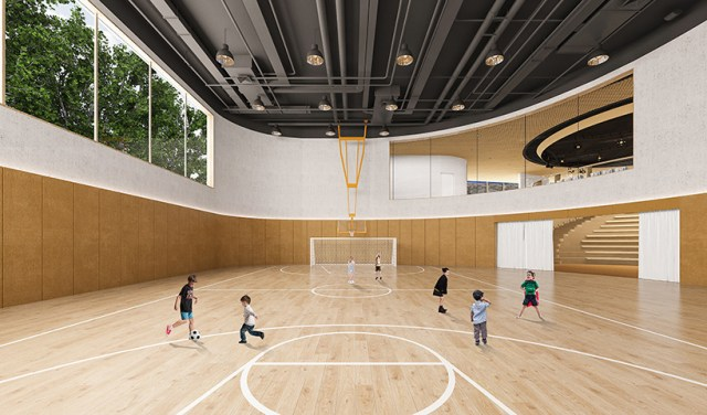MAD architects courtyard kindergarten