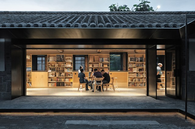 vector architects suochengli neighborhood library