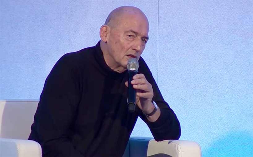 watch rem koolhaas discuss digital age, recent projects and politics at world architecture festival designboom