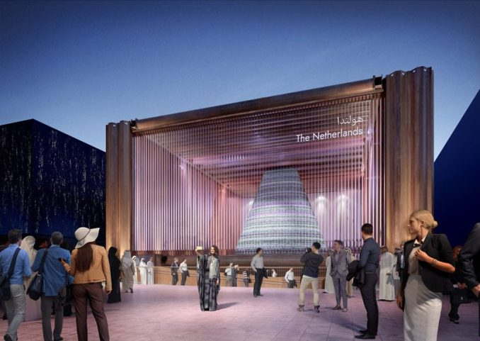 V8 architects reveals design of dutch pavilion for expo 2020 dubai