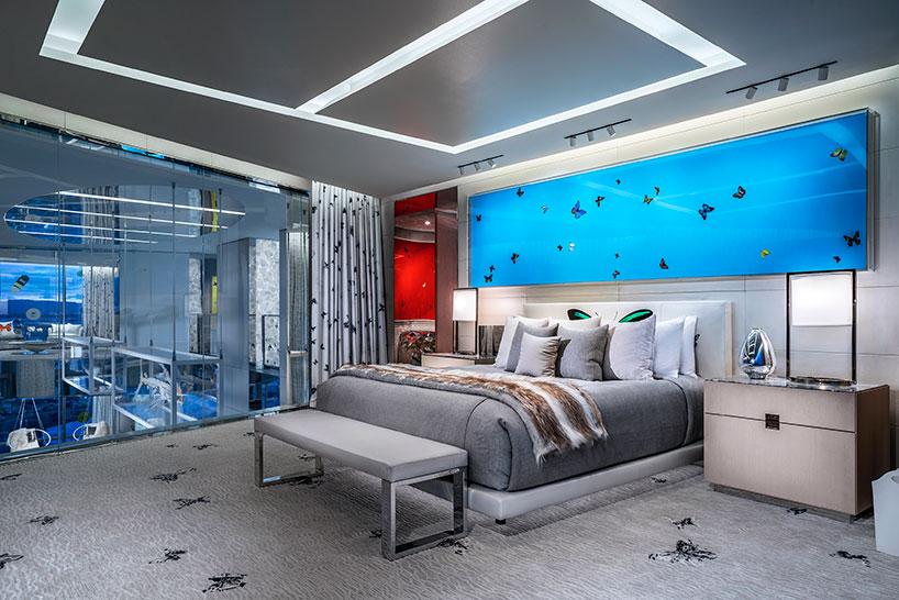 Damien Hirst Designs Opulent Las Vegas Sky Villa For Palms