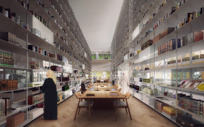 foster partners sharjah library