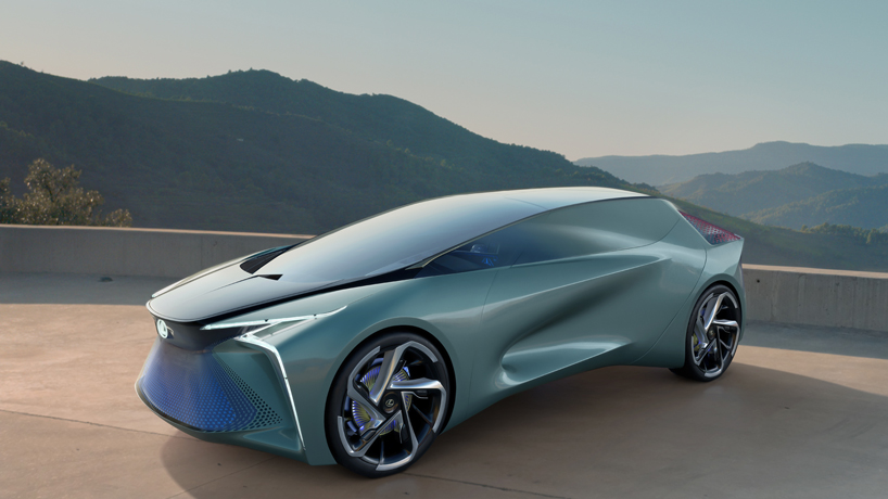 Lexus Unveils Electric Lf 30 Concept With Drone Deploying