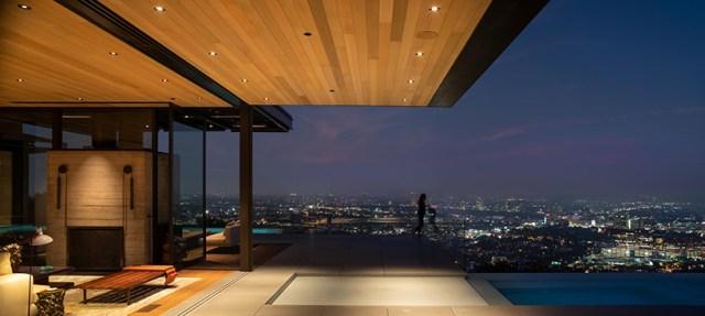 olson kundig's hillside 'collywood house' presents sweeping views across los angeles