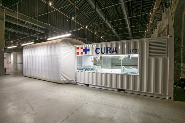 CURA shipping container ICUs