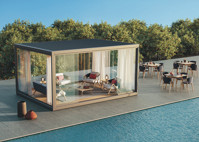 ethimo s outdoor furniture connects
