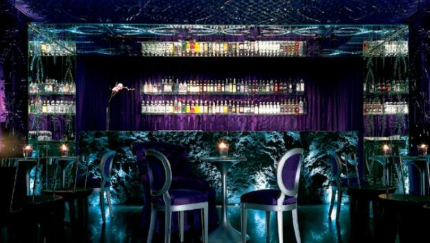 The Purple Bar Sanderson Hotel London Designmynight