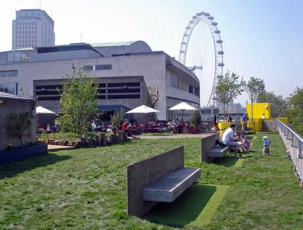 roof garden cafe bar queen elizabeth Queen Elizabeth Roof Garden and Cafe Waterloo | London Bar