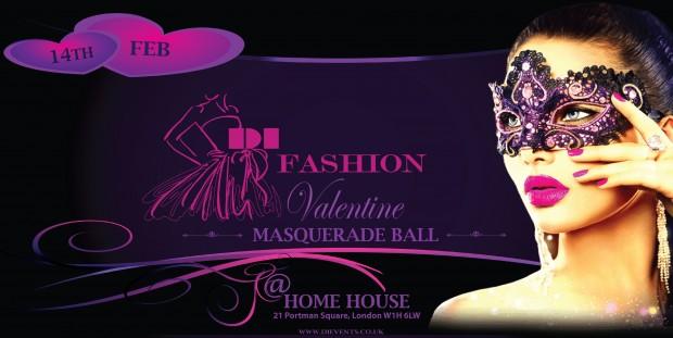 DI Fashion Valentine Masquerade Ball At Home House