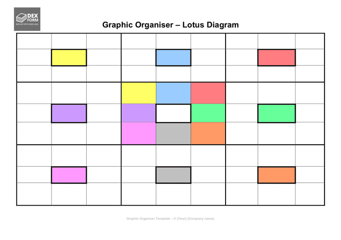 The network diagram template below illustrates how your local network can be divided into different zones. Lotus Diagram Template In Word And Pdf Formats