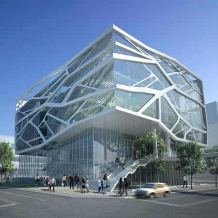 Gimpo art hall by g lab vanguarq for Lab architects