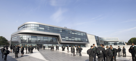 Evelyn Grace Academy by Zaha Hadid Architects