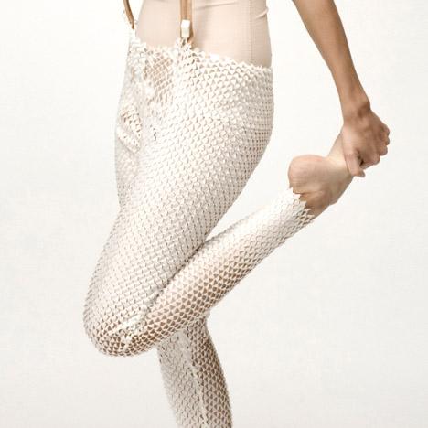 Snake&Molting legwear by Camille Cortet