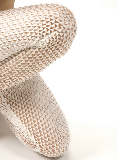 Snake&Molting legwear by Camille Cortet
