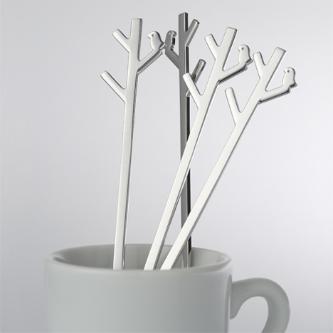 Forest Spoon by Nendo