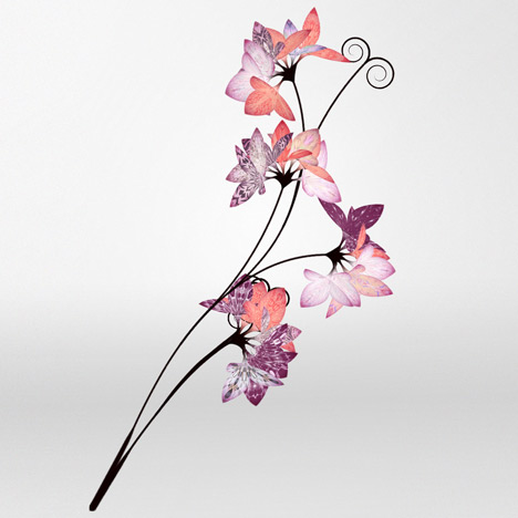 Love Blossoms by Danny Brown for Mulberry