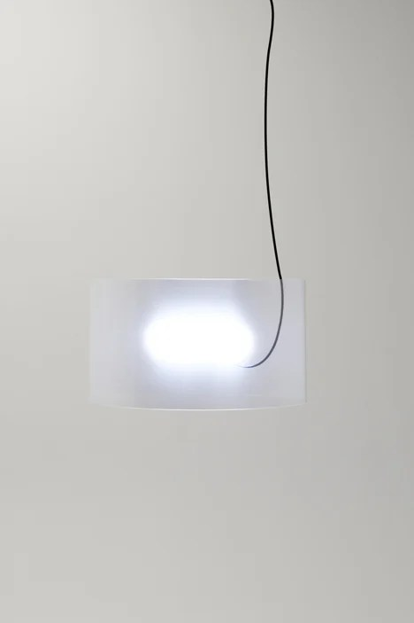 Transparent Lamp by Nendo