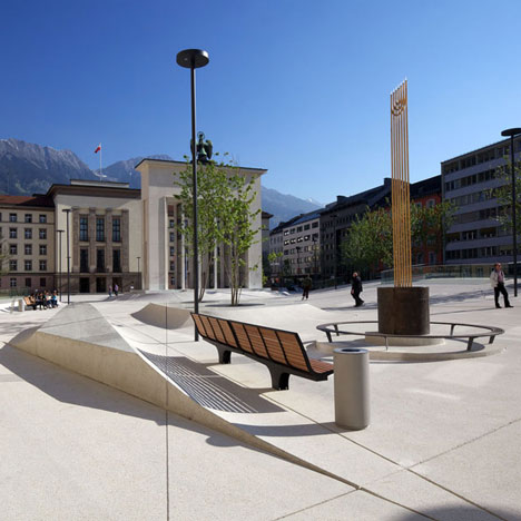 Landhausplatz by LAAC Architekten