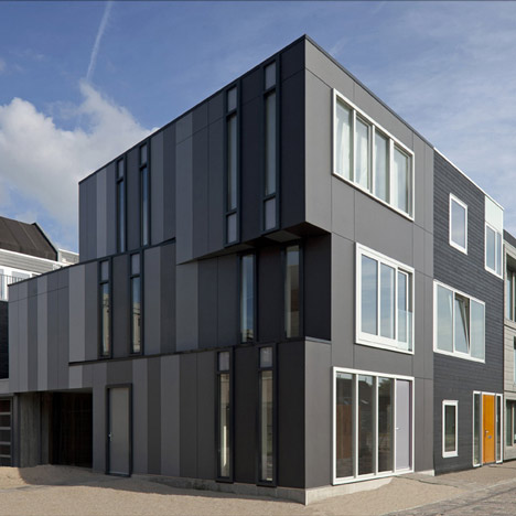 Twisted Corner One Of 670 Architect Designed Homes In The Dutch New Leyden Project Decisions Decisions Decisions