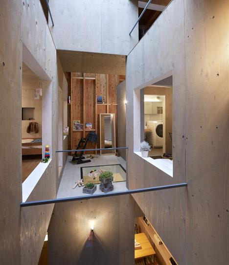 House in kokubunji by suppose design office aonthebox for Office design dezeen