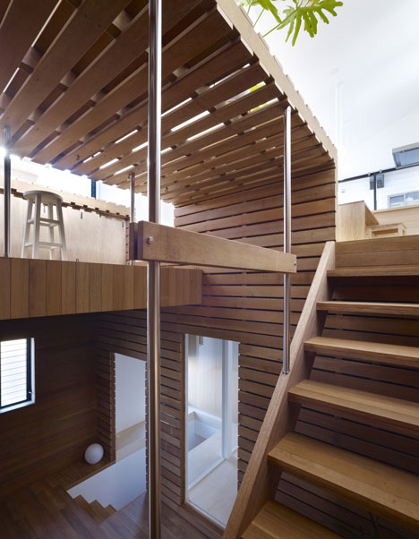 Switch Box in House by Naf Architect and Design